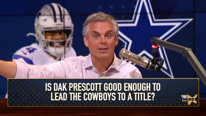 "Colin Cowherd on ""The Herd"""