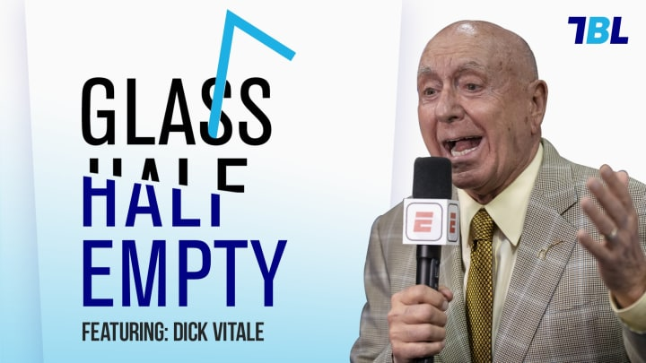 Dick Vitale joins Glass Half Empty Podcast