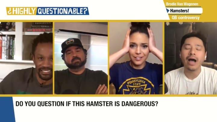 "Domonique Foxworth, Dan Le Batard, Katie Nolan and Pablo Torre on ""Highly Questionable"""