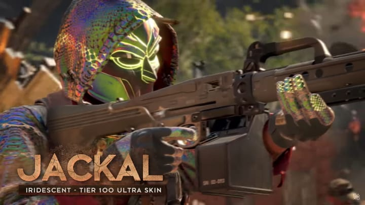 Warzone players want to unlock the Iridescent Jackal skin for the newest operator in Season 4.