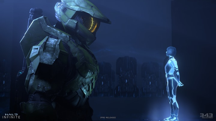 Spoilers for Halo Infinite's campaign were accidentally included in the multiplayer technical preview's files.