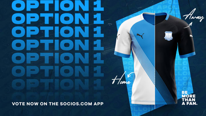 Apollon fans are voting for one of three shirt options