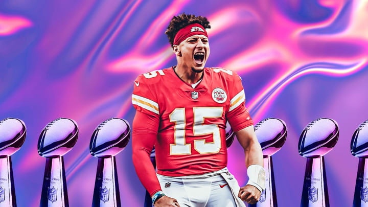 Patrick Mahomes has his eye on one more ring