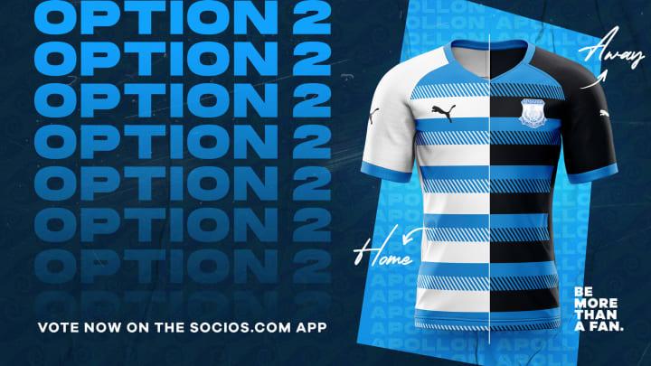 Apollon's second shirt options