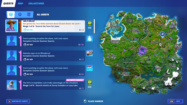 Here's how to complete the Search the Farm for Clues Week 4 legendary challenge in Fortnite Chapter 2 Season 7.