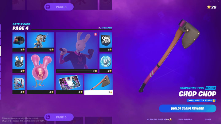 Fortnite players are wondering when does Fortnite Chapter 2 Season 7 end?