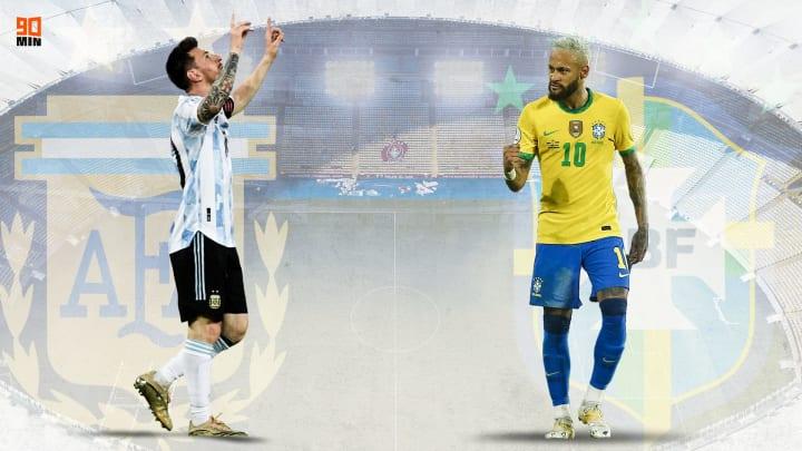 Supersfida Messi - Neymar