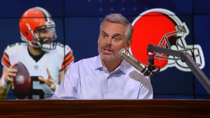 "Colin Cowherd discusses Baker Mayfield on ""The Herd with Colin Cowherd"""