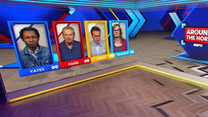 "Clinton Yates, Woody Paige, Frank Isole and Jackie MacMullan on ""Around the Horn"""