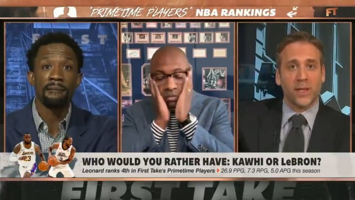 """Domonique Foxworth, Jay Williams and Max Kellerman on """"First Take"""""""