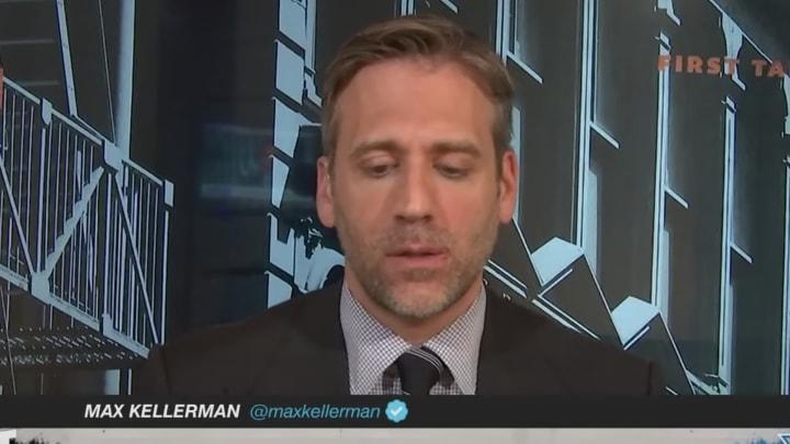 Max Kellerman contemplating
