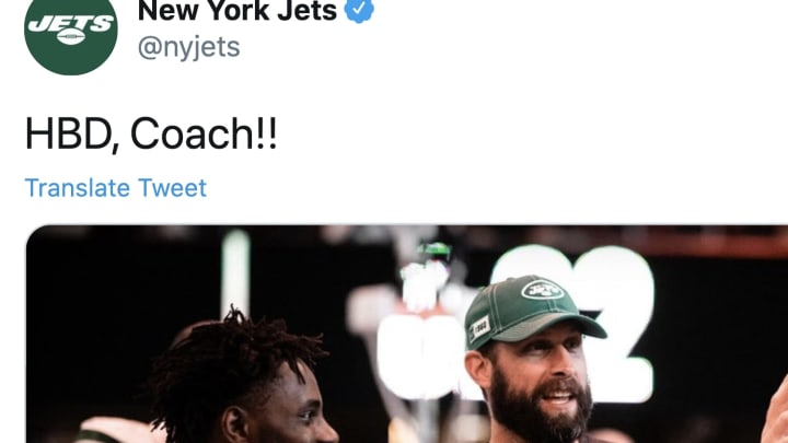 Jets fans lashed out against head coach Adam Gase on his birthday