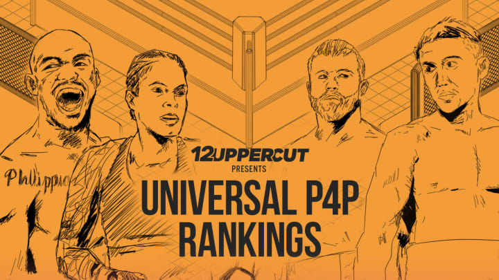 Amanda Nunes and Canelo Alvarez remain atop 12uppercut's unified MMA and boxing P4P list