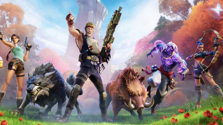 A Fortnite Jurassic World crossover was leaked and dinosaurs look to be arriving in the wild.