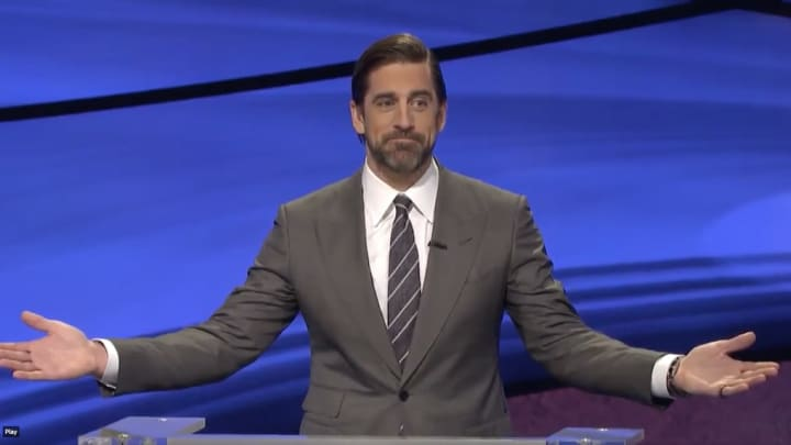 """Aaron Rodgers with the """"come on folks."""""""