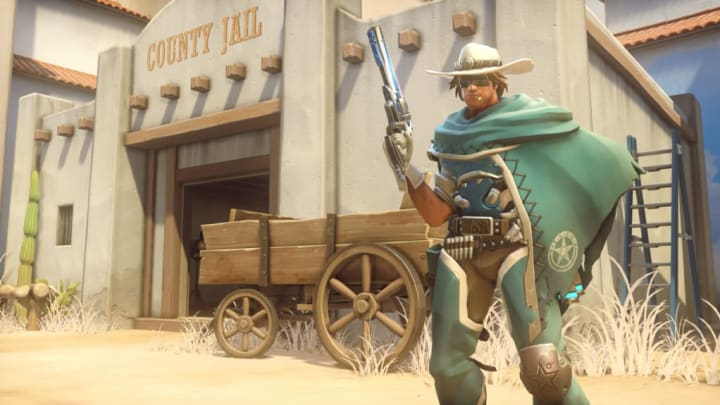Masked Man McCree is a new epic skin released for Overwatch Anniversary.