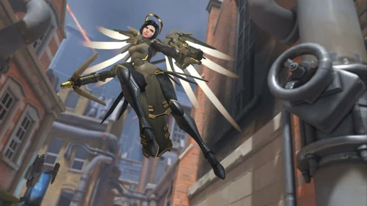 Mercy's new Archives event skin