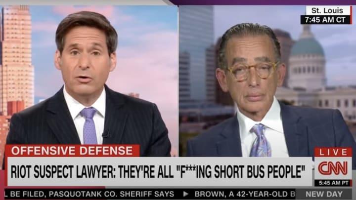 Albert Watkins on CNN.
