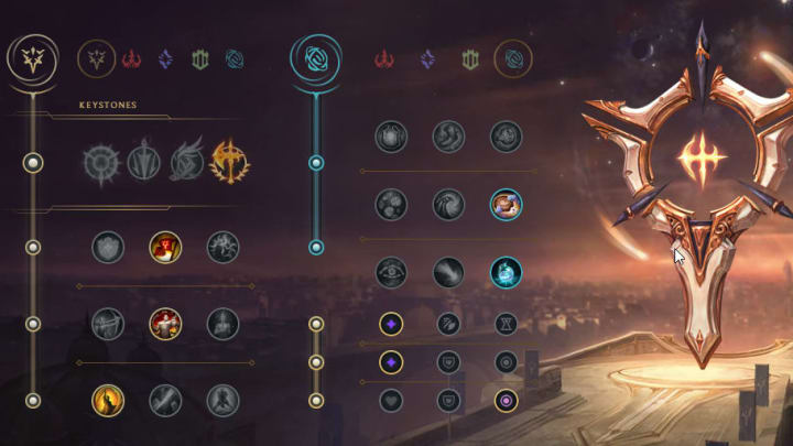 Runes for Pantheon in 11.11