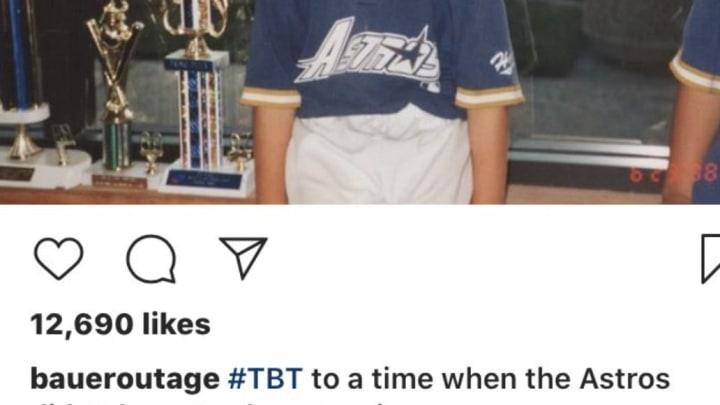 Trevor Bauer destroys the Houston Astros.