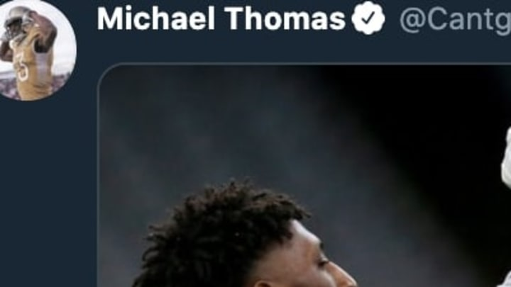 The beef between New Orleans Saints stars Michael Thomas and Drew Brees appears to be over.