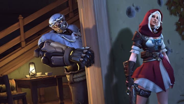 New Little Red Ashe skin from the 2020 Overwatch Anniversary event.