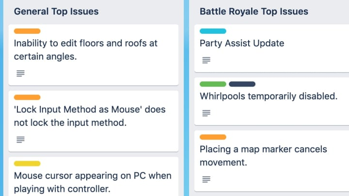 Fortnite Update v13.40 will focus heavily on bugs and glitches in the current game.