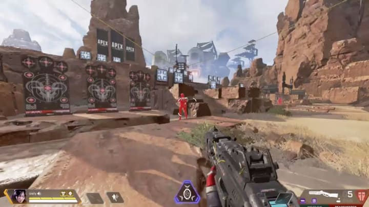 An Apex Legends exploit allows players to reload their weapon in the void if you time it well.