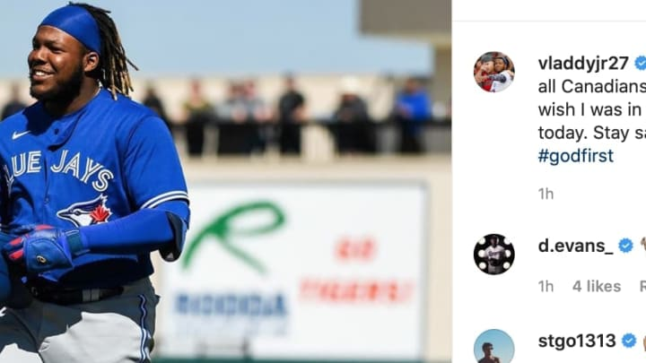 Vladimir Guerrero Jr. trolled the Toronto Blue Jays over his service-time dispute with a clever Instagram post.