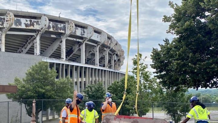 RFK Stadium is no longer a testament to George Preston Marshall.