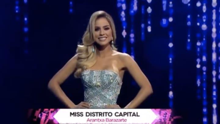Arantxa Barazarte representó a Distrito Capital en el Miss Venezuela 2018