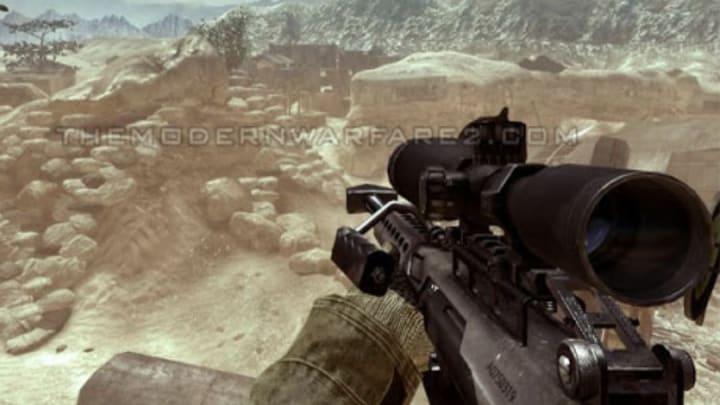 Barrett .50cal (Call of Duty: Modern Warfare 2)