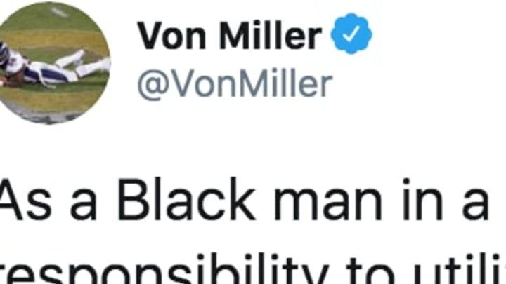 Denver Broncos star Von Miller's Twitter Account