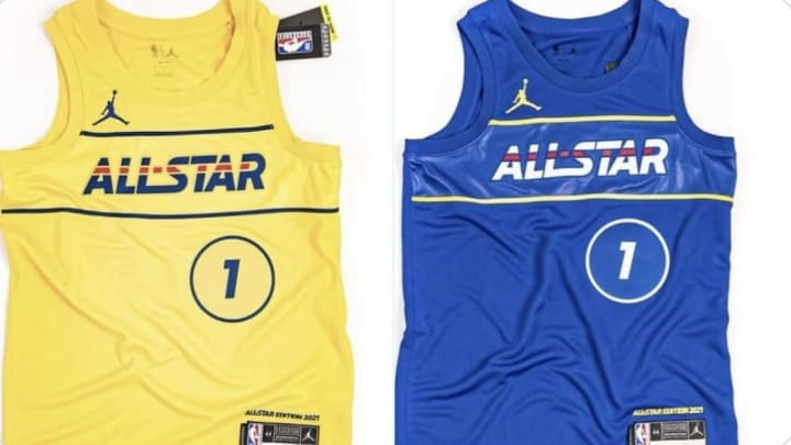 Leaked All-Star Jerseys