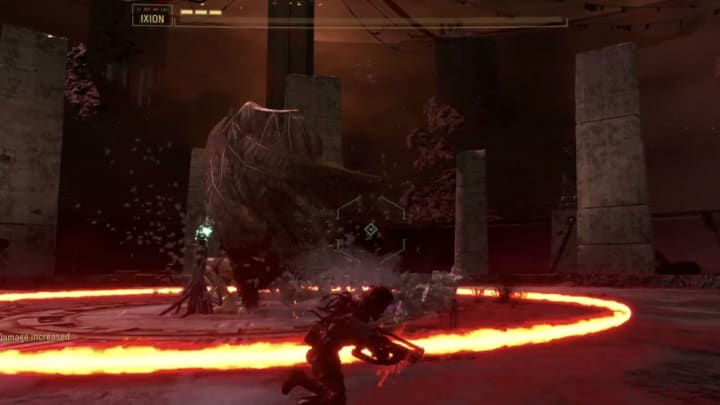 Ixion is a tough challenge to defeat in the Crimson Wastes.