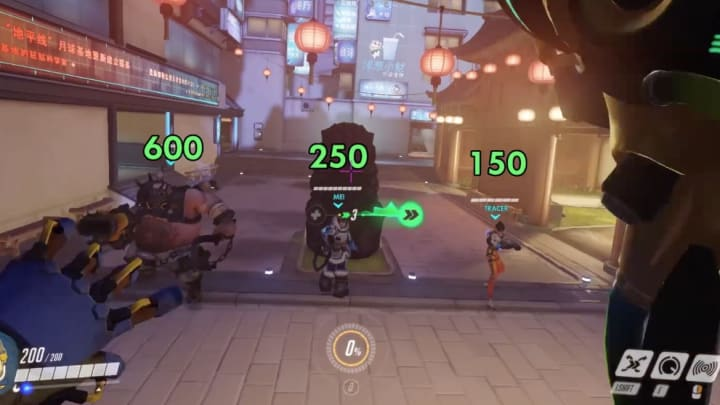 An Overwatch Workshop increases the shields given by Lucio's ultimate based on the height he jumps.