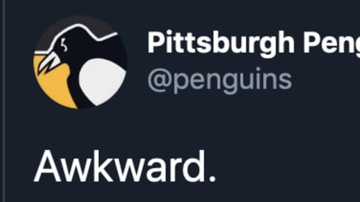 Penguins mention Antonio Brown in hilarious post