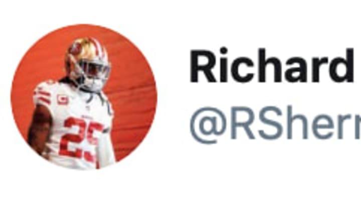 San Francisco 49ers cornerback Richard Sherman on Twitter