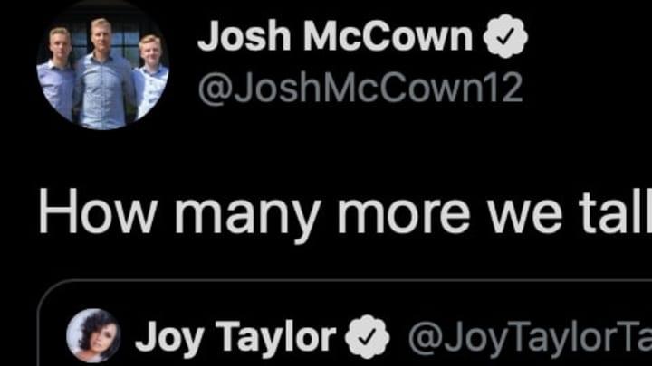 Former QB Josh McCown posts hilarious tweet about his NFL career