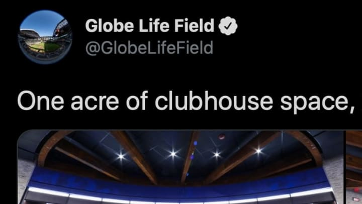 The Rangers gave a sneak peek of the inside of the brand new Globe Life Park.