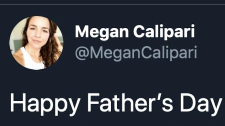 Kentucky basketball coach John Calipari's daughter Megan on Twitter