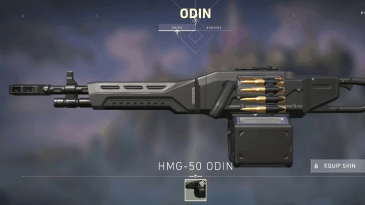 The Odin can mow through opponents with proper control