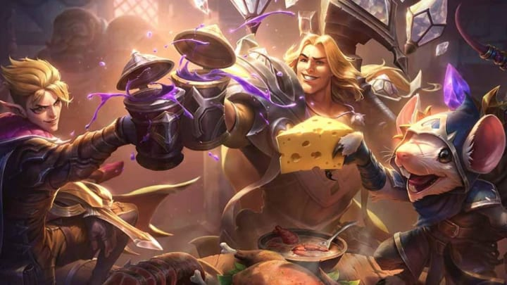 Death's Dance and Teleport both received changes to help top laners in League of Legends Patch 10.6.