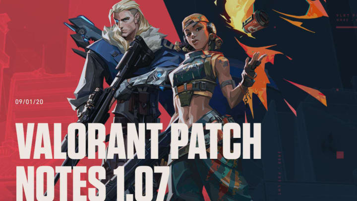 Valorant Patch 1.07 introduced several weapon balance changes resulting in a new weapon tier list.