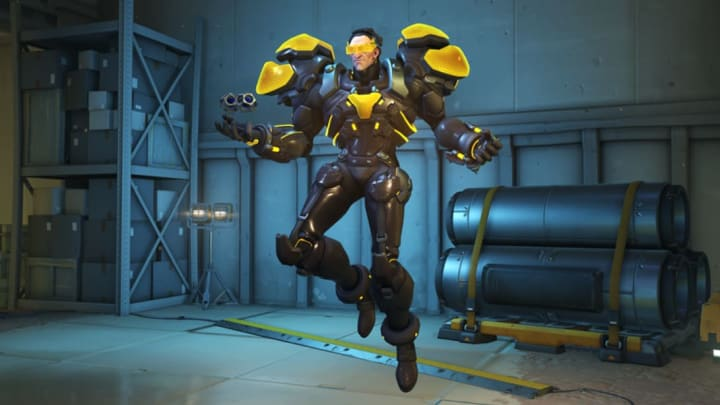 New Carbon Fiber Sigma skin from the Overwatch Anniversary event.