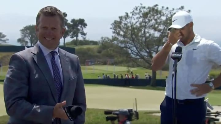 Todd Lewis and Brooks Koepka
