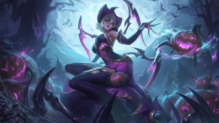 Halloween League Skins 2020 League of Legends Halloween Skins 2020 Leak