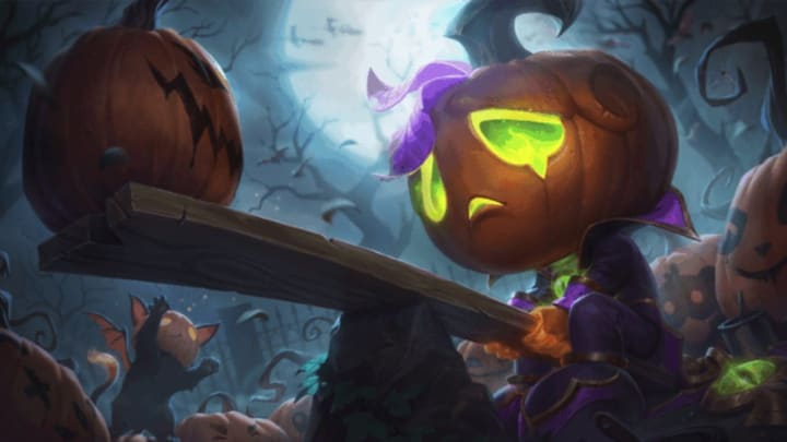 When Do Halloween League Of Legends Skins Come Out 2020 League of Legends Halloween Skins 2020 Leak