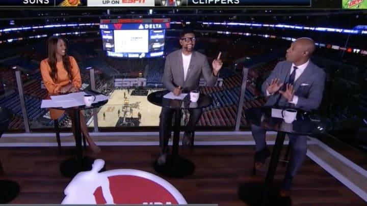 Jalen Rose roasts Jay Williams on NBA Countdown.