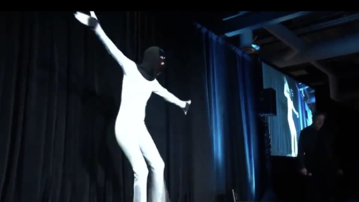 Tesla Bot has been programmed to boogie down.